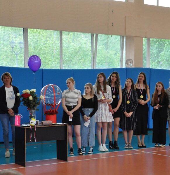 Праздник выпускников отделения волейбола