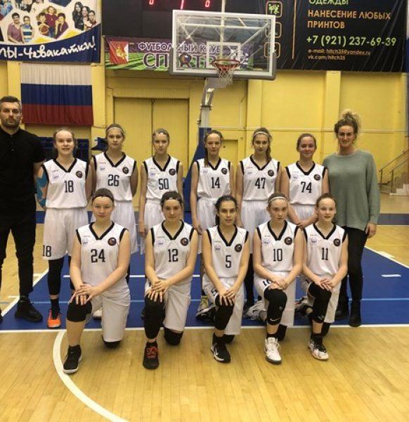 команда девушек 2007 г.р. признана лучшей по итогам 2 полуфинала Всероссийских соревнований