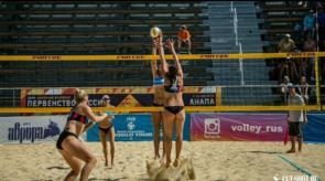 август 2019 Первенство РФ по пляжному волейболу 1 место 2
